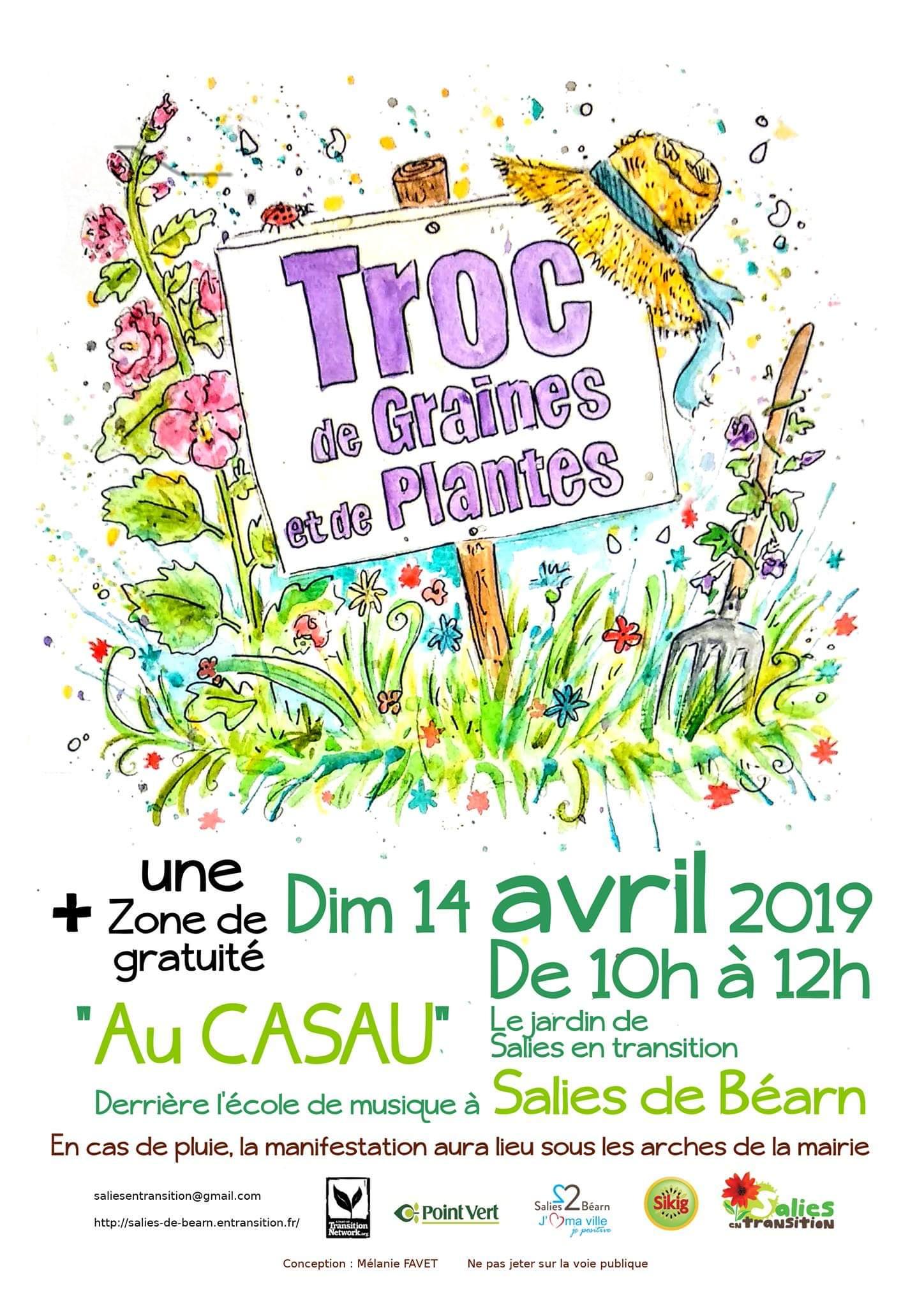 Graines Et Plantes Calendrier Lunaire Mars 2020.14 Avril De 10h A 12h Le 23 Ieme Troc De Graines Et De